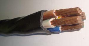 Область применения кабелей силовых медных и алюминиевых с ПВХ изоляцией: для передачи и распределения электрической энергии в стационарных установках на номинальное переменное напряжение 660 В частоты 50 Гц. Виды климатического исполнения кабелей УХЛ, Т категорий размещения 1, 5 по ГОСТ 15150, а также для прокладки в почве купить в Киеве по выгодной цене с бесплатной доставкой