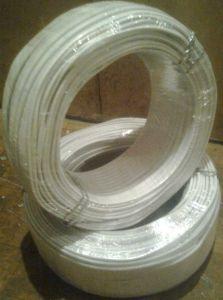 Провод электрический медный гибкий трехжильный, многопроволочная жила сечением 2.5 кв. мм, напряжение 220В, мощность до 4.6 кВт, бухта 200м купить Киев цена скидка