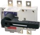 Выключатель - разъединитель нагрузки 3 полюса, 125 Ампер, 380 вольт с фронтальной рукояткой управления