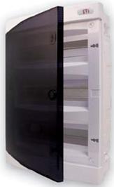 Ящик встроенный пластиковый ЕTI - щит внутренний распределительный от 8 до 36 модулей (от 8 до 36 мест для автоматических выключателей) купить в Киеве по выгодной цене с бесплатной доставкой