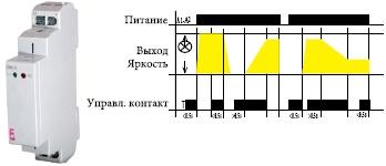 Купить управляемый регулятор яркости света DIM-14 (диммер до 500W, активная, индуктивная и емкостная нагрузка) в Киеве по выгодной цене с бесплатной доставкой