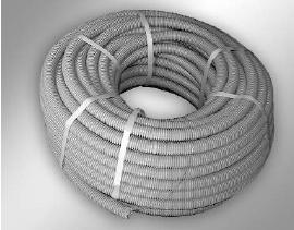 Пластиковые гофрированные трубы предназначены для удобства прокладки  электрических сетей ( силовых сигнальных ) внутри помещений. При монтаже  трубы крепятся к основанию с помощью крепежных элементов и легко стыкуются  между собой с помощью пластиковых прямых и угловых соединителей.