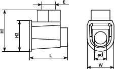 Клеммник концевой одинарный для провода счением 6 квадрат мм используется для оперативной и безопасной изоляции соединительных точек электромонтажных проводов купить в Киеве по выгодной цене с бесплатной доставкой