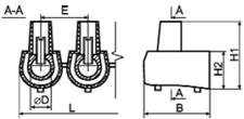 Клеммник концевой (1 пластина - 5 шт) сечение 4 квадрат мм купить с доставкой по выгодной цене в Киеве