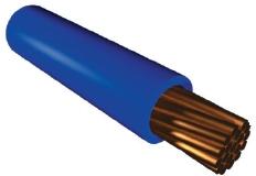 Используется провод медный гибкий ПВ - 3 кабель одножильный медный    Для монтажа участков электрических цепей, где возможны изгибы проводов, для прокладки в стальных трубах, пустотелых каналах строительных конструкций, на лотках купить в Киеве по выгодной цене с бесплатной доставкой