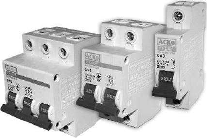 Автоматические выключатели модульные одно 1-полюсные 220 вольт Аско УкрЕМ автоматичний вимикач купити Киев цена
