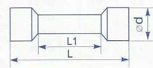 Гильза соединительная в изоляции для провода сечением от 0.5 до 1.5 квадрат мм применима для соединения медных проводников и кабелей методом опрессовки купить в Киеве по выгодной цене с доставкой