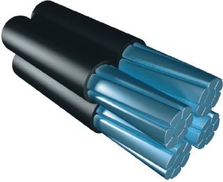 Область применения самонесущих изолированных проводов ASXSn, СИП, САПт для применения в воздушных силовых линиях и осветительных сетях на переменное напряжение до 1 кВ номинальной частотой 50 Гц. Вид климатического исполнения проводов УХЛ, категория размещения 1, 2, и 3 по ГОСТ 15150-69 купить в Киеве по выгодной цене с бесплатной доставкой