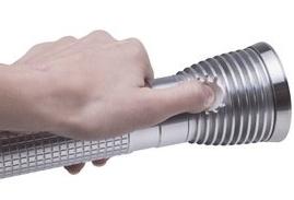 Тактический фонарь 24Вт переносной прожектор, с акумулятором питания до 5 ч, всепогодный, дальность луча более 500м, пятно 2 кв. м купить в Киеве по выгодной цене с доставкой